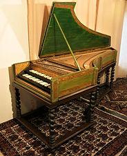 Restored Celini Harpsichord