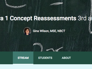 How Do you Reassess in Your SBG Classroom?