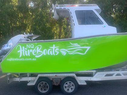 Hire Boat Cairns