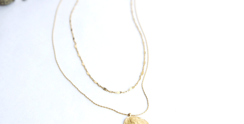Collier double INSEKI
