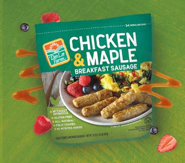 Chicken & Maple Breakfast Sausage