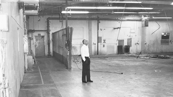Larry at Newly Purchased Facility
