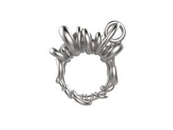 Gravity Anneaux or blanc - 3060 €