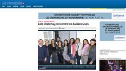 """Article journal """"Le Progrès"""""""