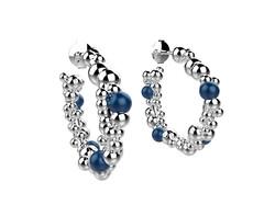 Gravity Bulles Or agate bleue1850€