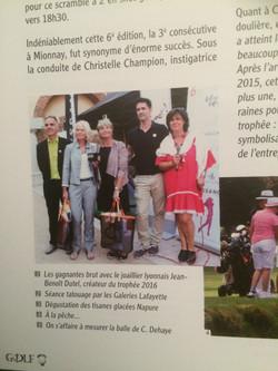 Article presse Golf magazine
