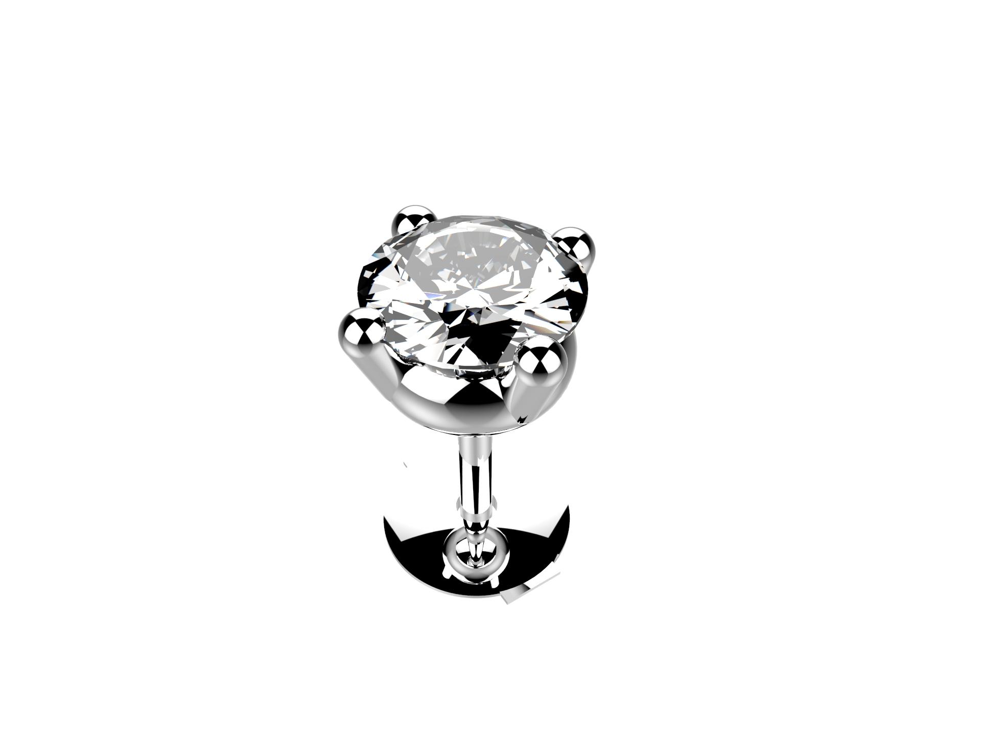 Boucle d'oreille diamant 4160 €
