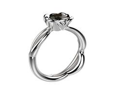Selva or blanc diamant noir 4070 €