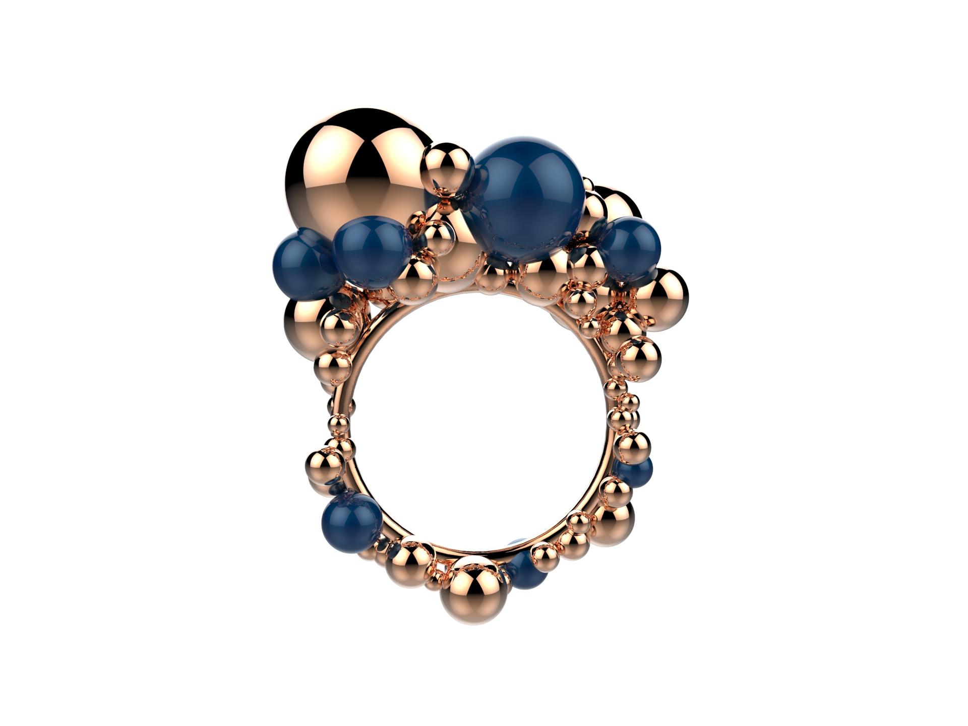 Gravity Bulles Agates bleues 3400 €