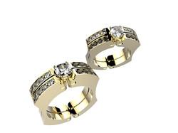 Moov Kolibri or jaune diamants 6620€