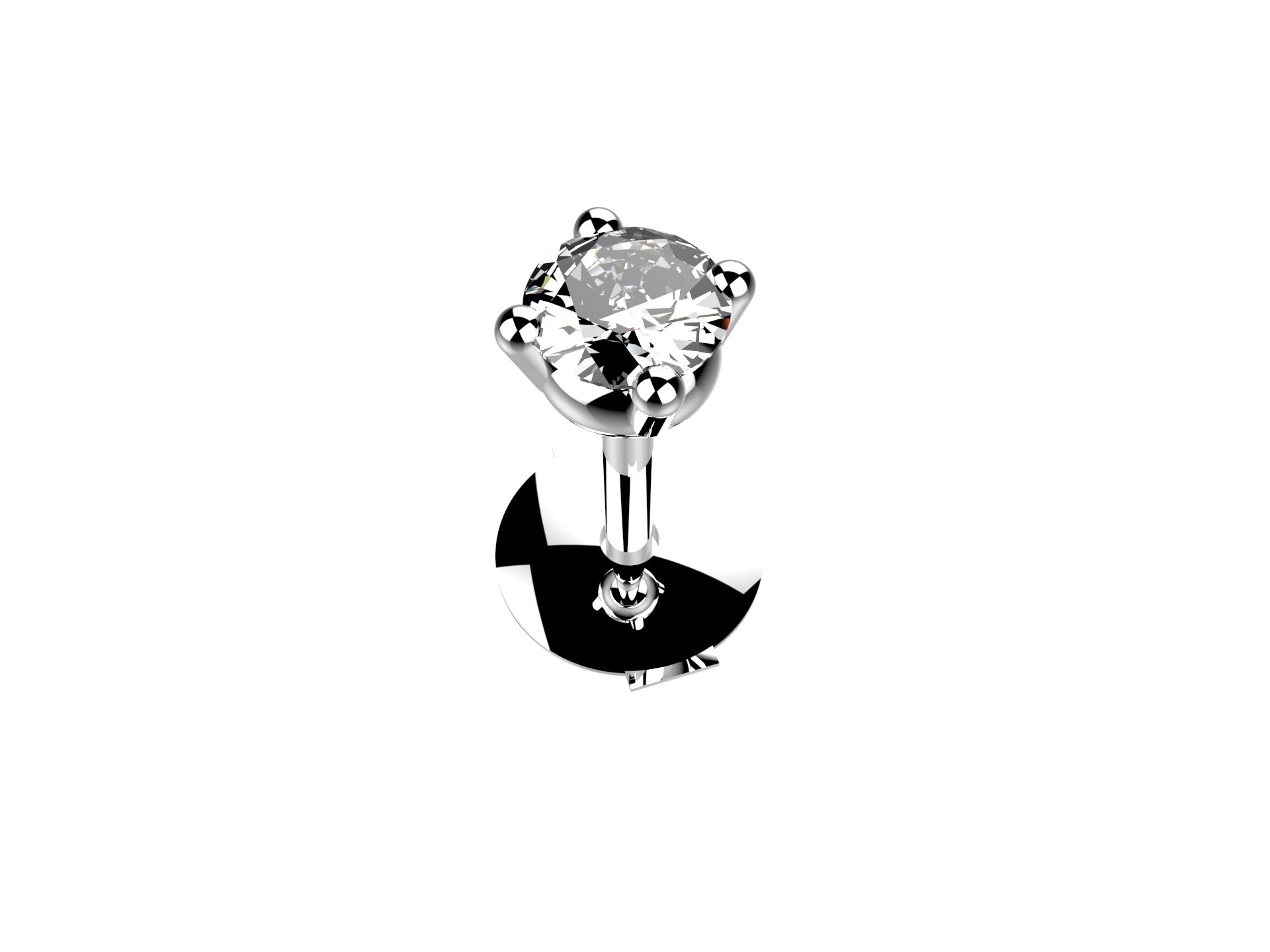 Boucle d'oreille diamant 560 €