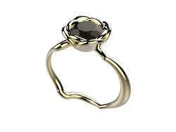 Selva or jaune diamant noir 3700 €