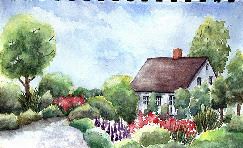 home water color