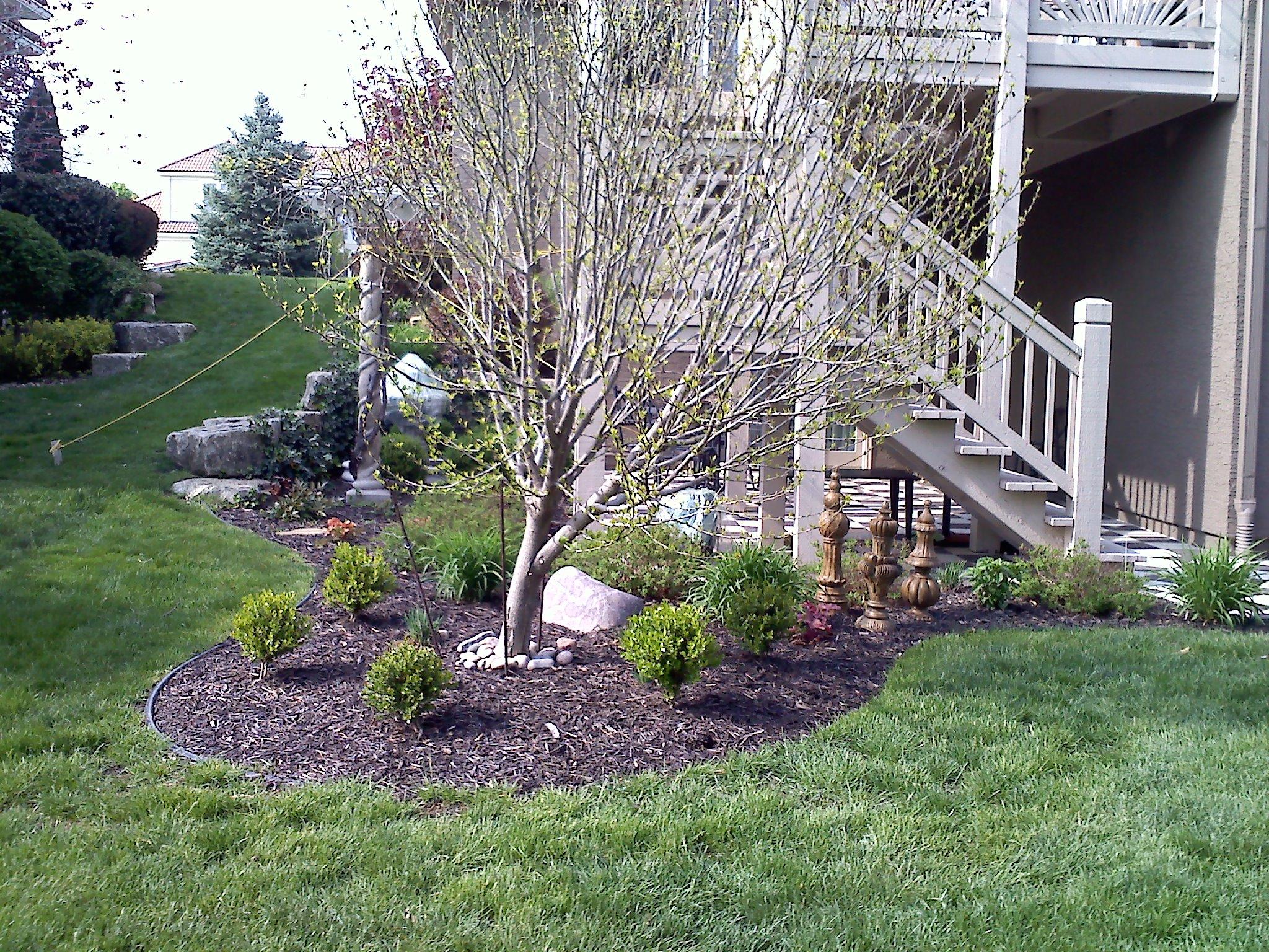 #4 Before view deck steps corner