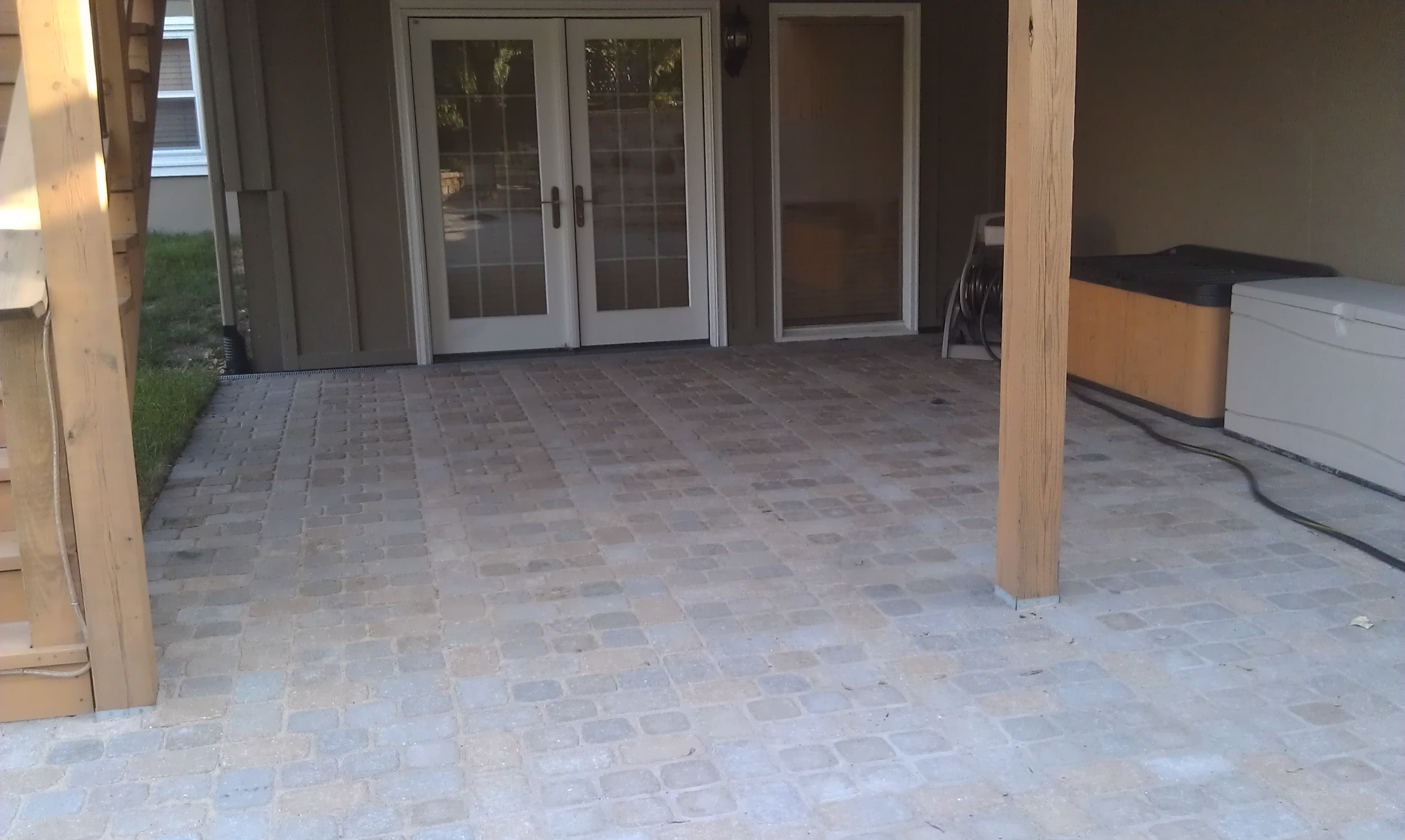 #7 - After view of patio