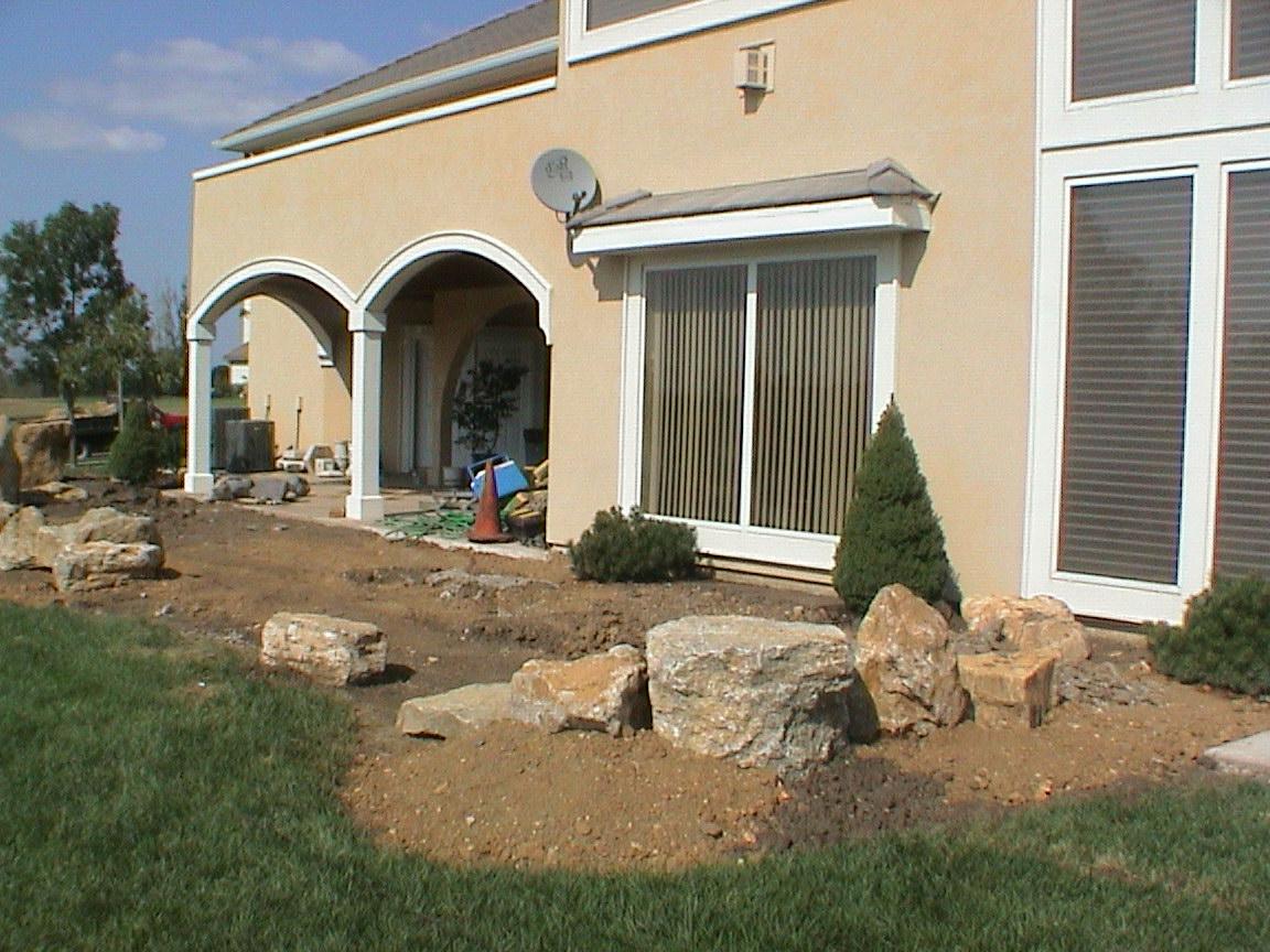 #7 Garden West View - in Progress