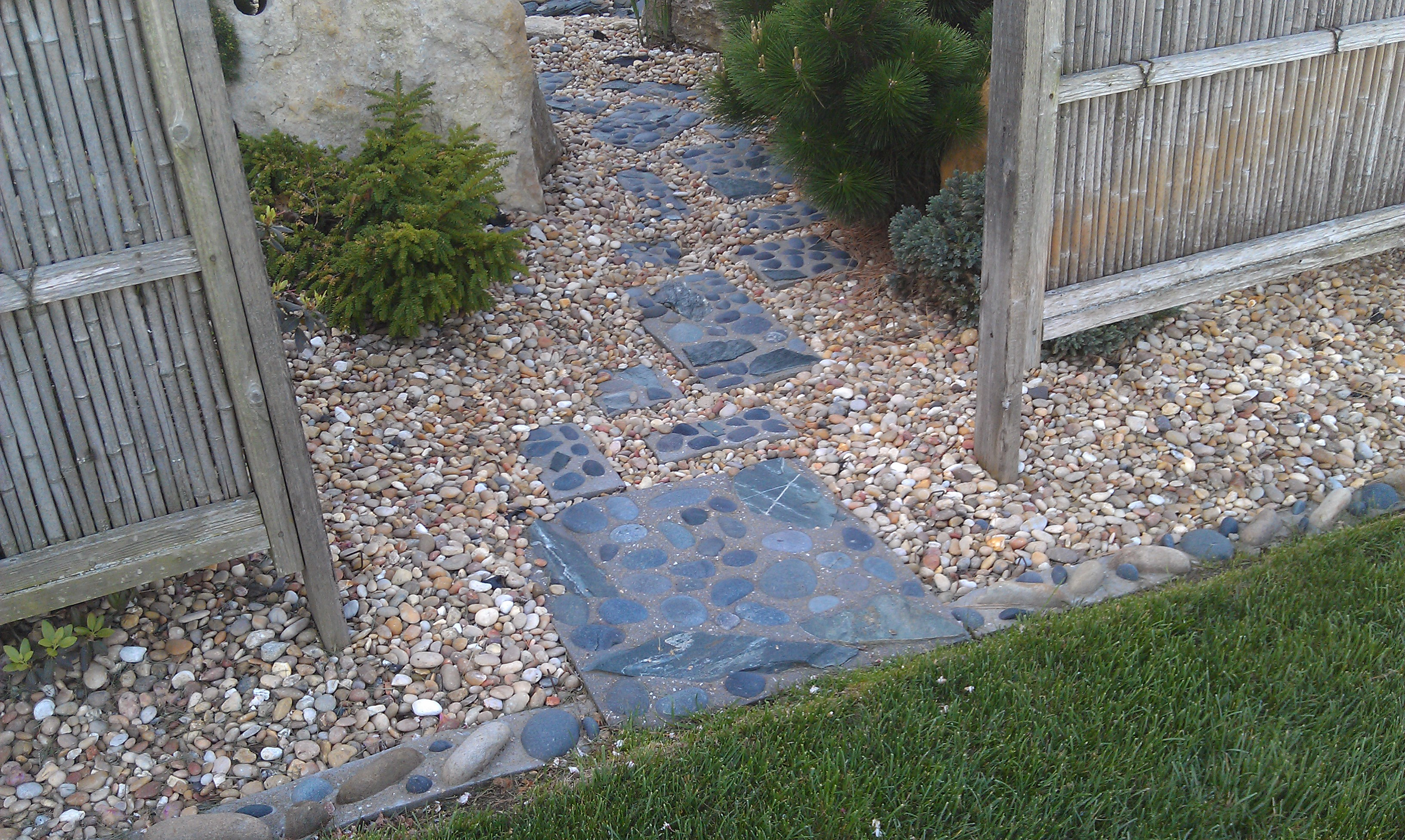 # 5 Custom Steppers and lawn edging
