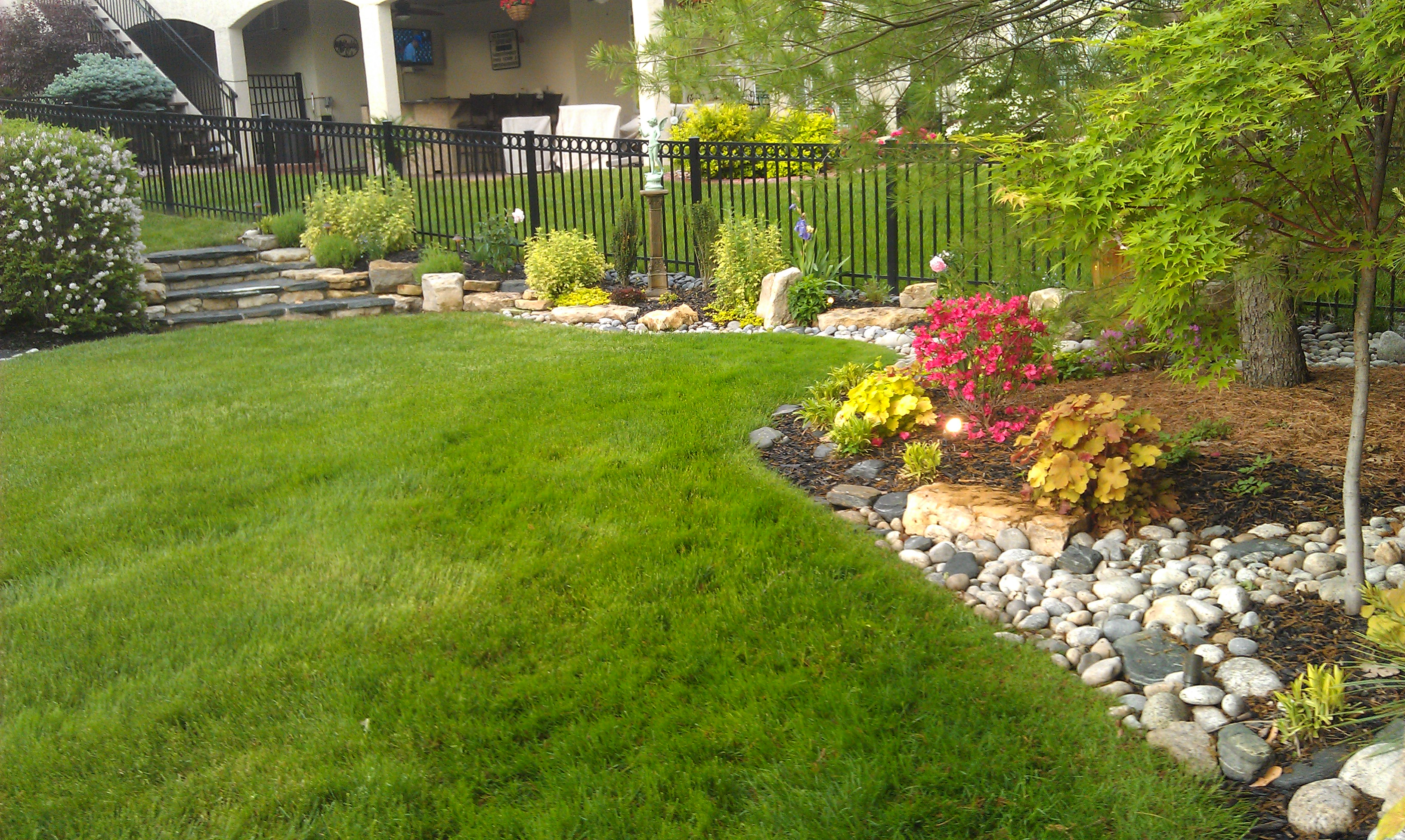 #10 after - sideyard with steps