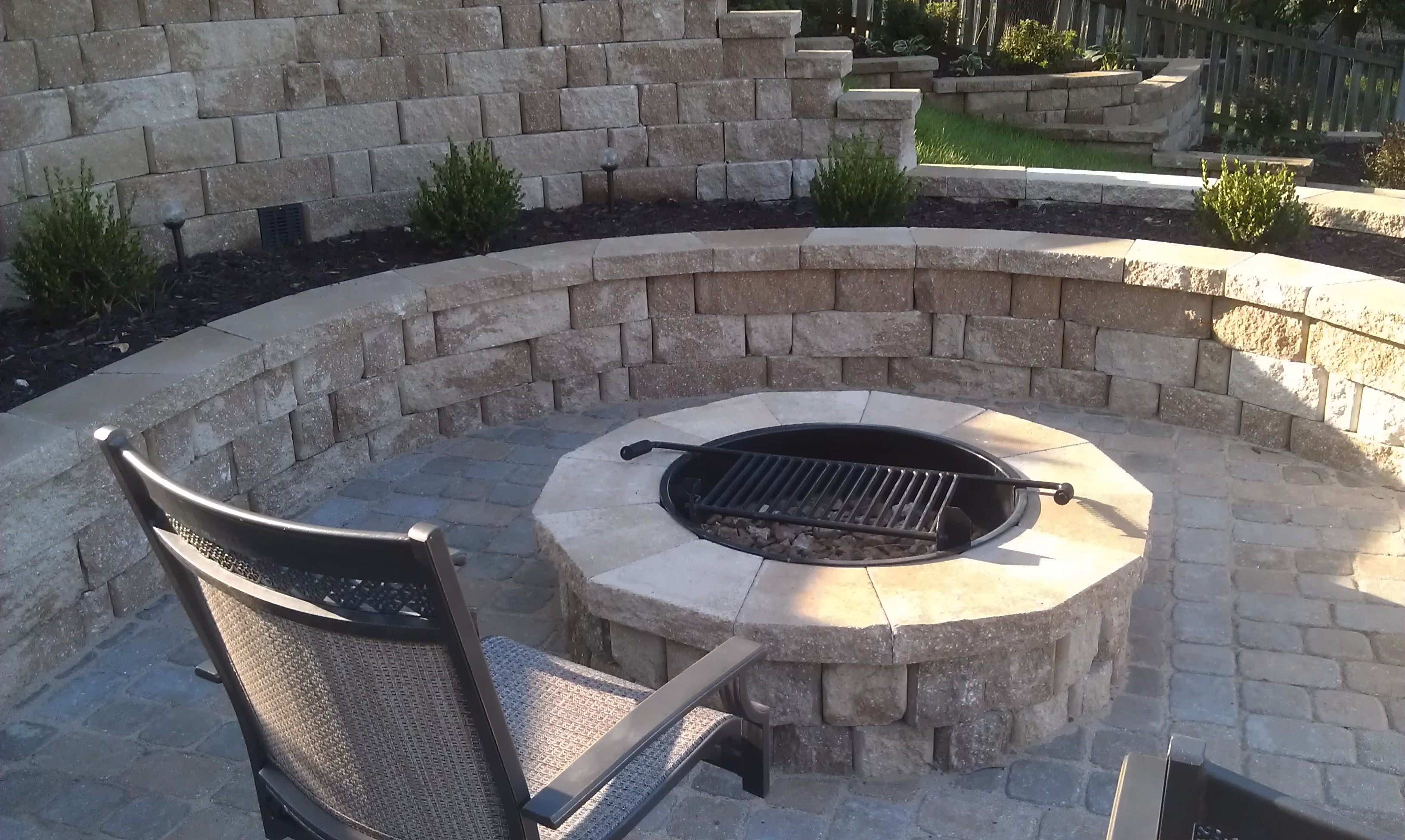 #4 - Close up view of fire pit