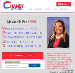 Sherry Channey Webpage Front Page 2