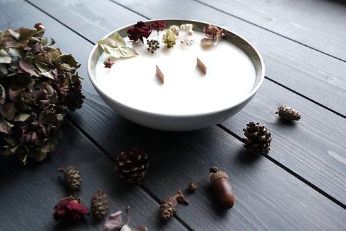 Bougie végétale à la cire de soja ref Quimperlé