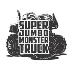 Super Jumbo Monster Truck