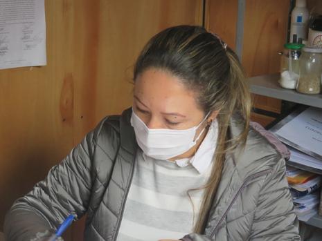 Arq. Bernardita María Benítez, encargada de la coordinación y administración del contrato Cialpa S.A