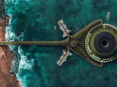 Proyecto de Eco-Hotel Flotante en Qatar