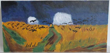 Wheatfield With Crows - After Van Gogh (This Won't End Well)