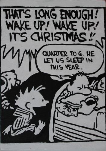Calvin and Hobbes Christmas 2018