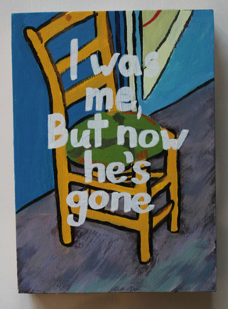 Vincent's Bedroom in Arles - After Van Gogh (Angry Chair)