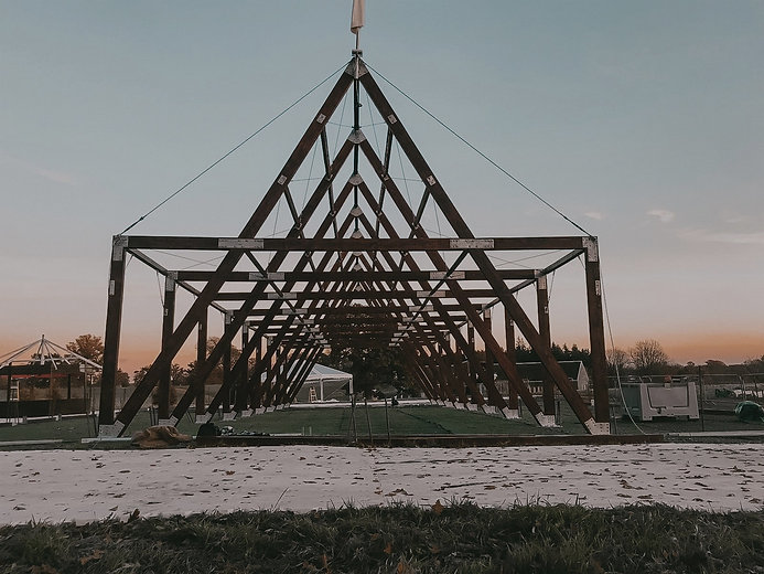 Husk Marquee Frame build