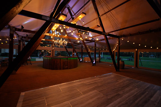 Cruck-tent-to-hire-for-corporate-events-