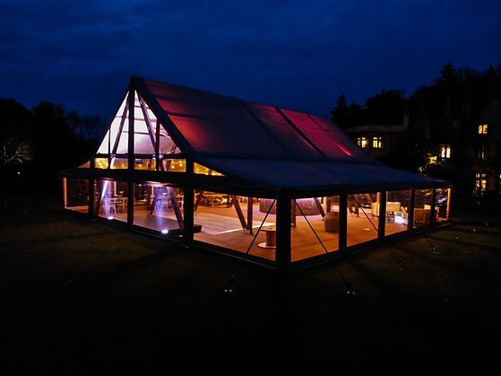 Cruck-tent-marquee-for-weddings-night-ex
