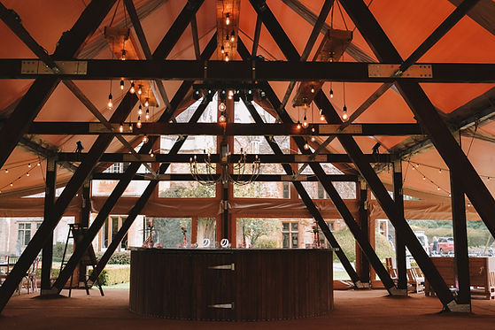 Cruck-tent-to-hire-for-events-in-oxfordshire