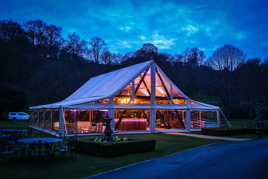 timber frame wedding and events marquees for hire in berkshire