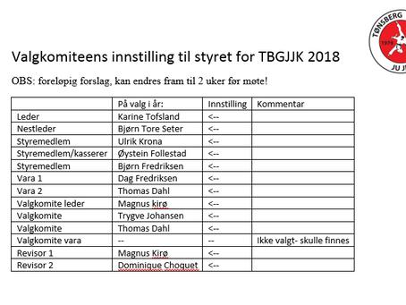 Invitasjon til årsmøte for driftsår 2017