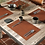 Thumbnail: Leather Placemats (Snake Pattern)