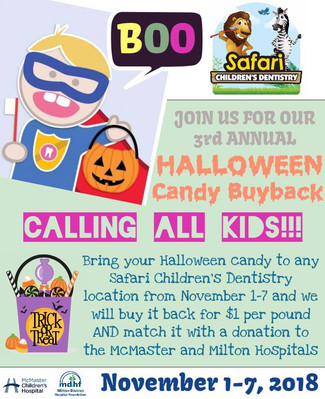Halloween candy buy back is Back!