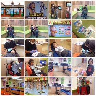 Having fun at Safari Children's Dentistry!
