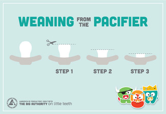 Weaning your child from the Pacifier