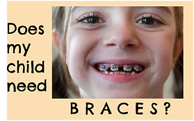 Please ask your Milton and Burlington Pediatric Dentist if your child needs braces.