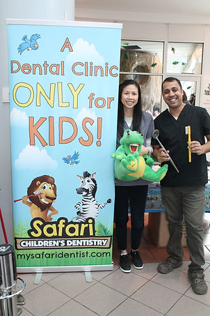 Milton Burlington pediatric dentist at Dental Fair