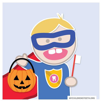 Happy Halloween from your Pediatric Dentists!