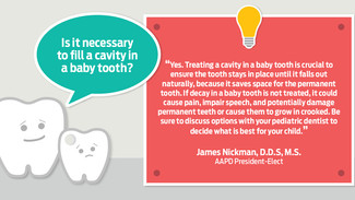 Why treat baby teeth?