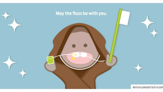 May the floss be with you.