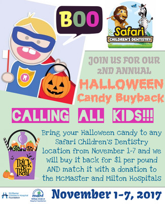 Halloween Candy Buyback is Back!