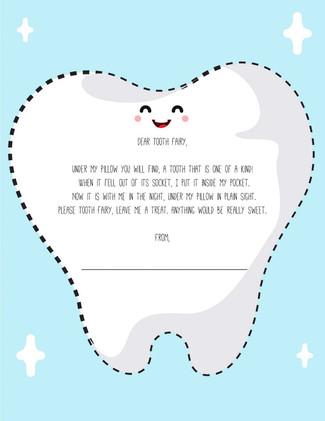 Dear Toothfairy...