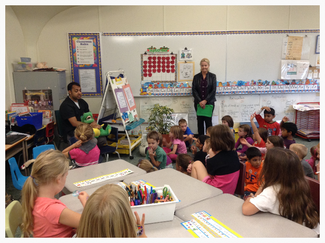 Pediatric Dentists Outreach to Burlington Elementary School