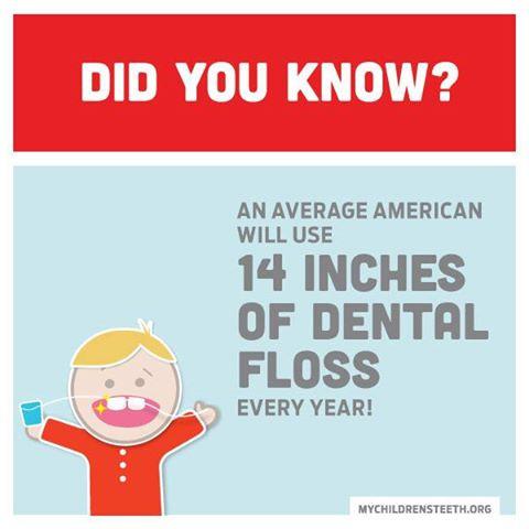 Burlington Kid's Dentist Loves to Floss!